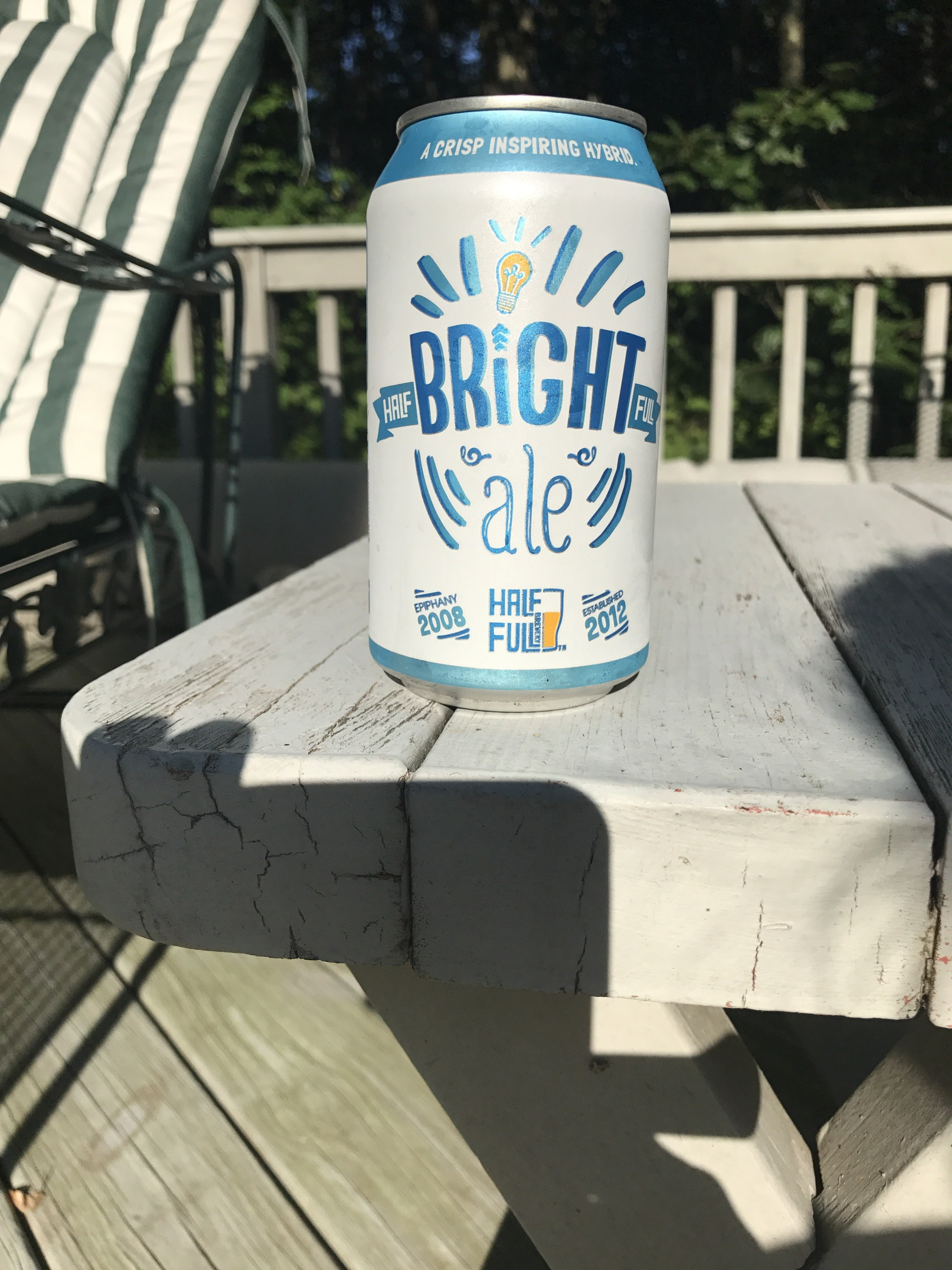 Half Full Bright Ale Review