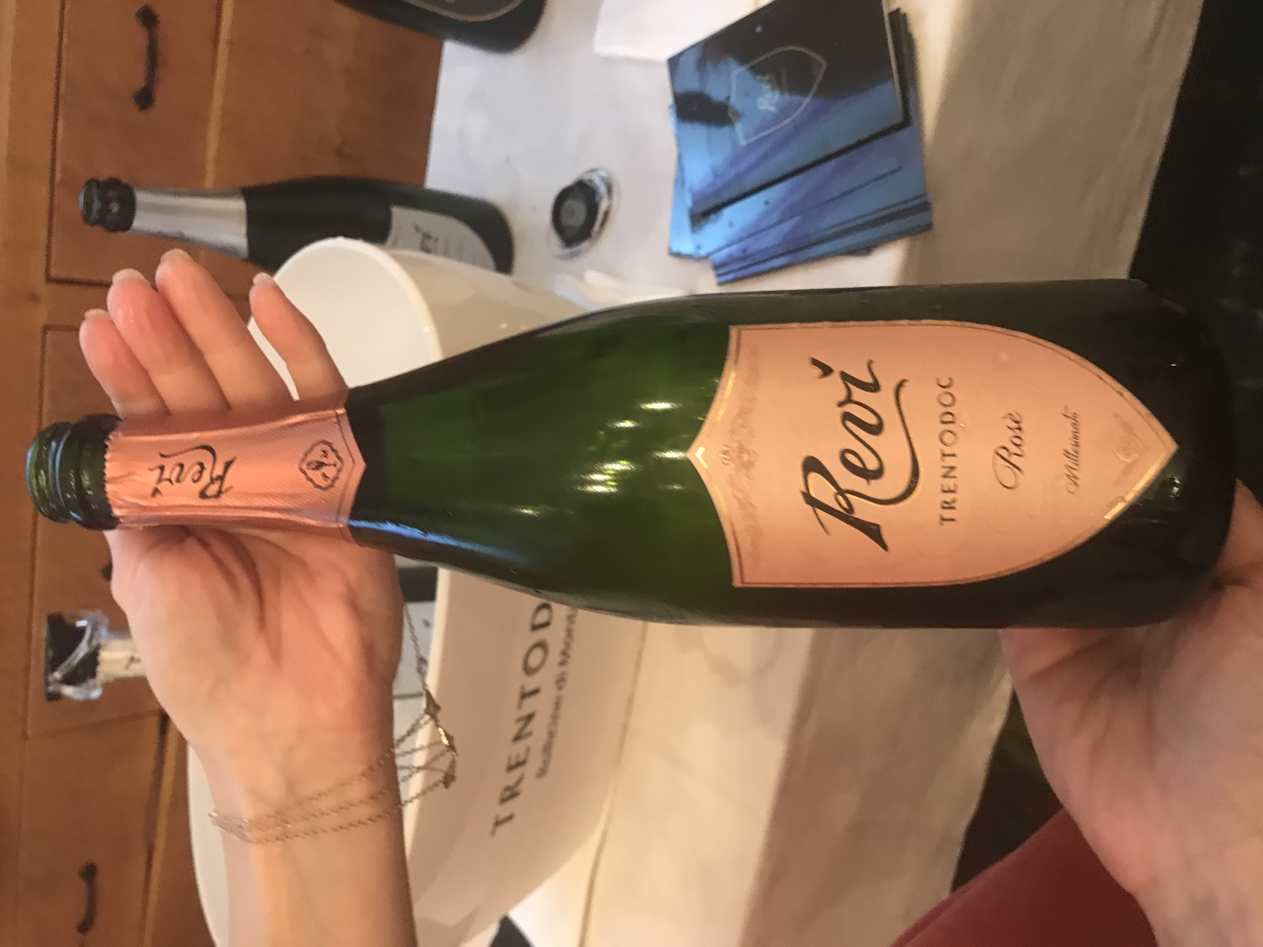Trentodoc Sparkling Wines from the Mountains!
