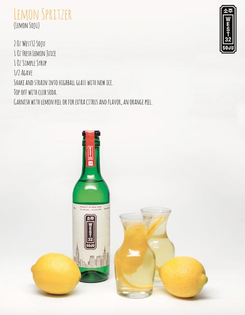 Lemon Soju Spritzer
