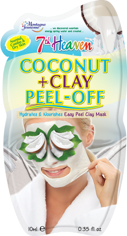 Coconut + Clay Peel Off Mask from 7th Heaven