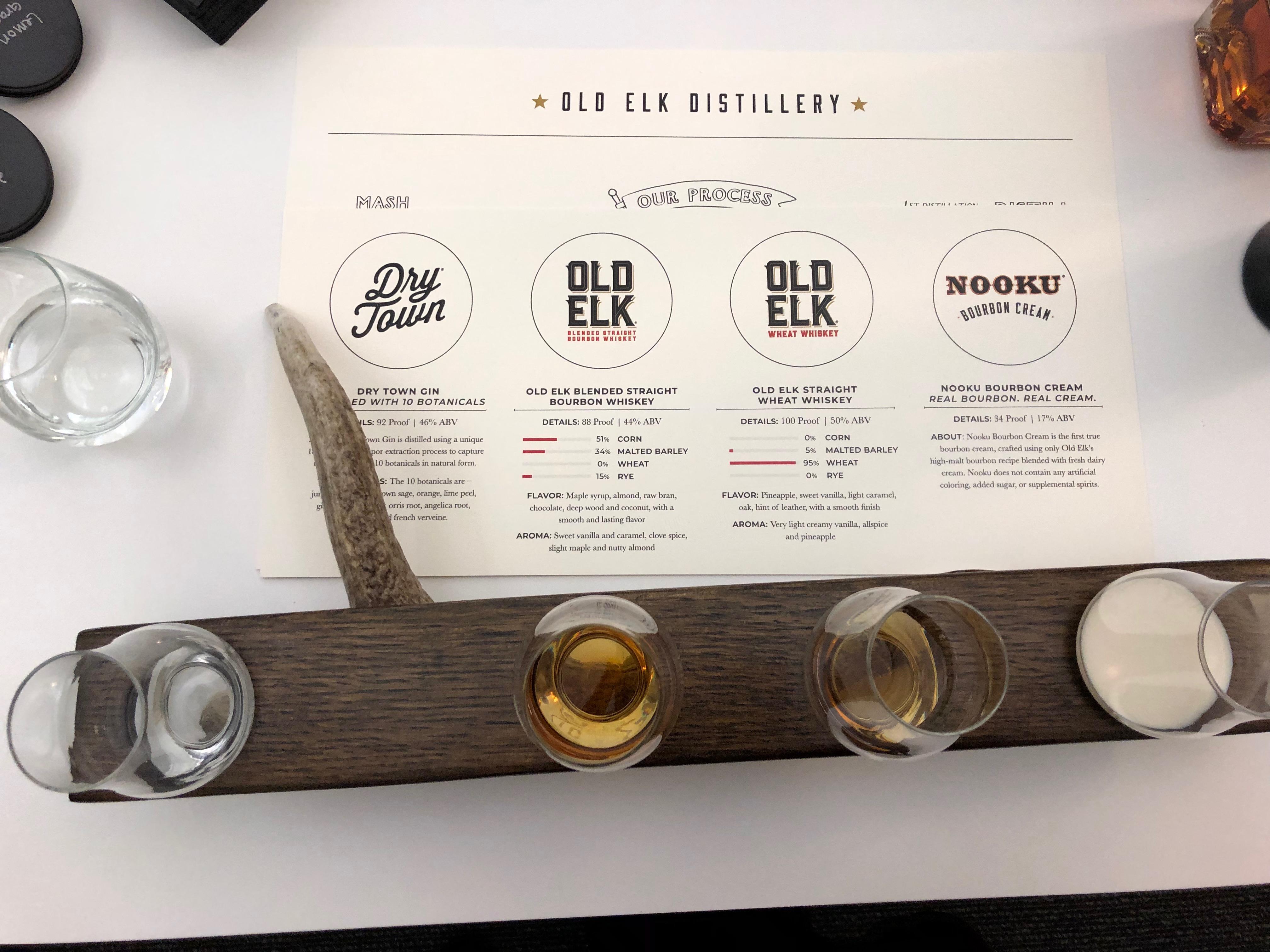 Old Elk Tasting