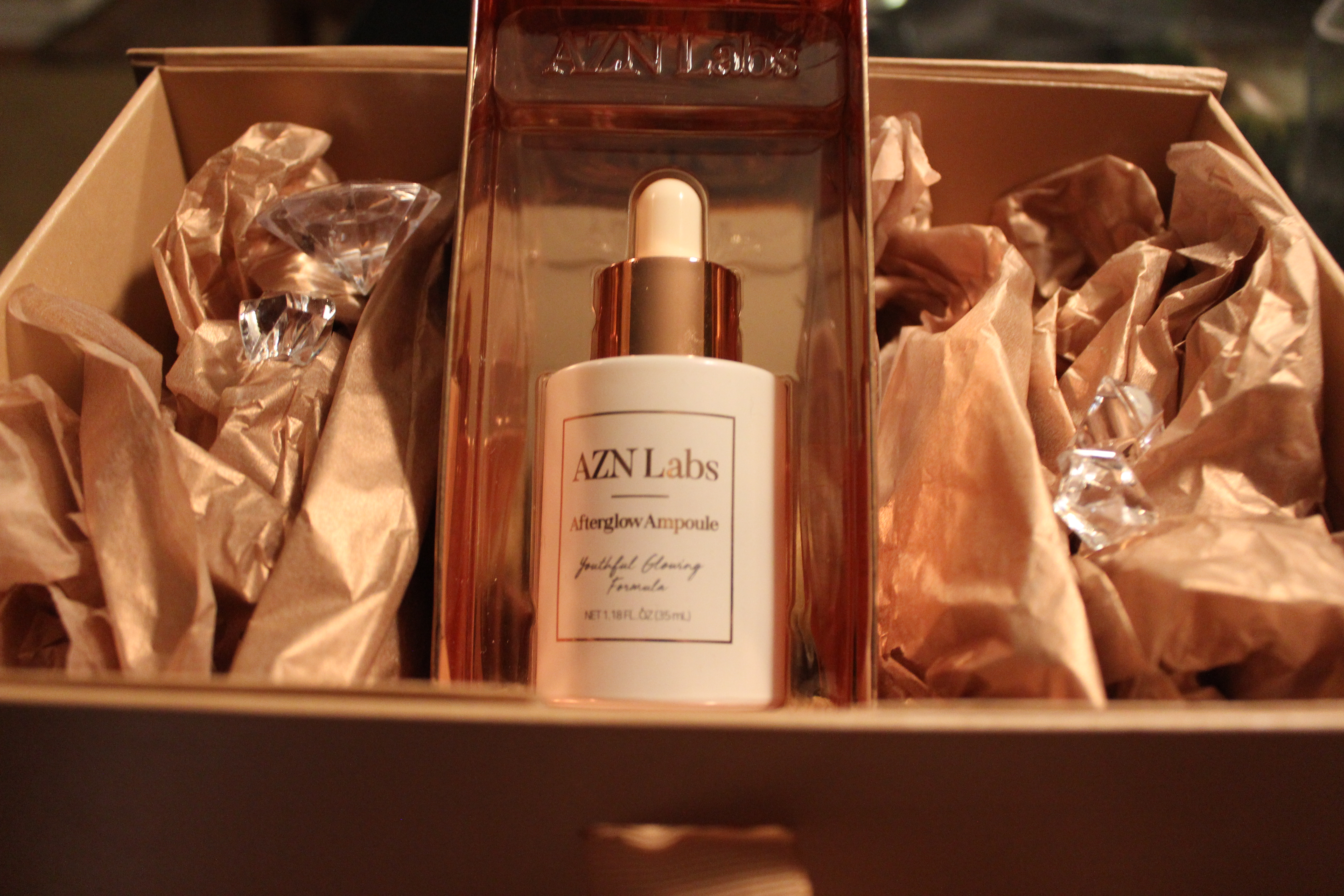 Unveiling Afterglow Ampoule by AZN Labs, First Product Line Providing a Miracle Blend of J + K-Beauty