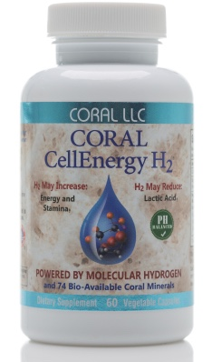 Wakeup with CoralCellEnergy H2 Molecular Hydrogen Supplement