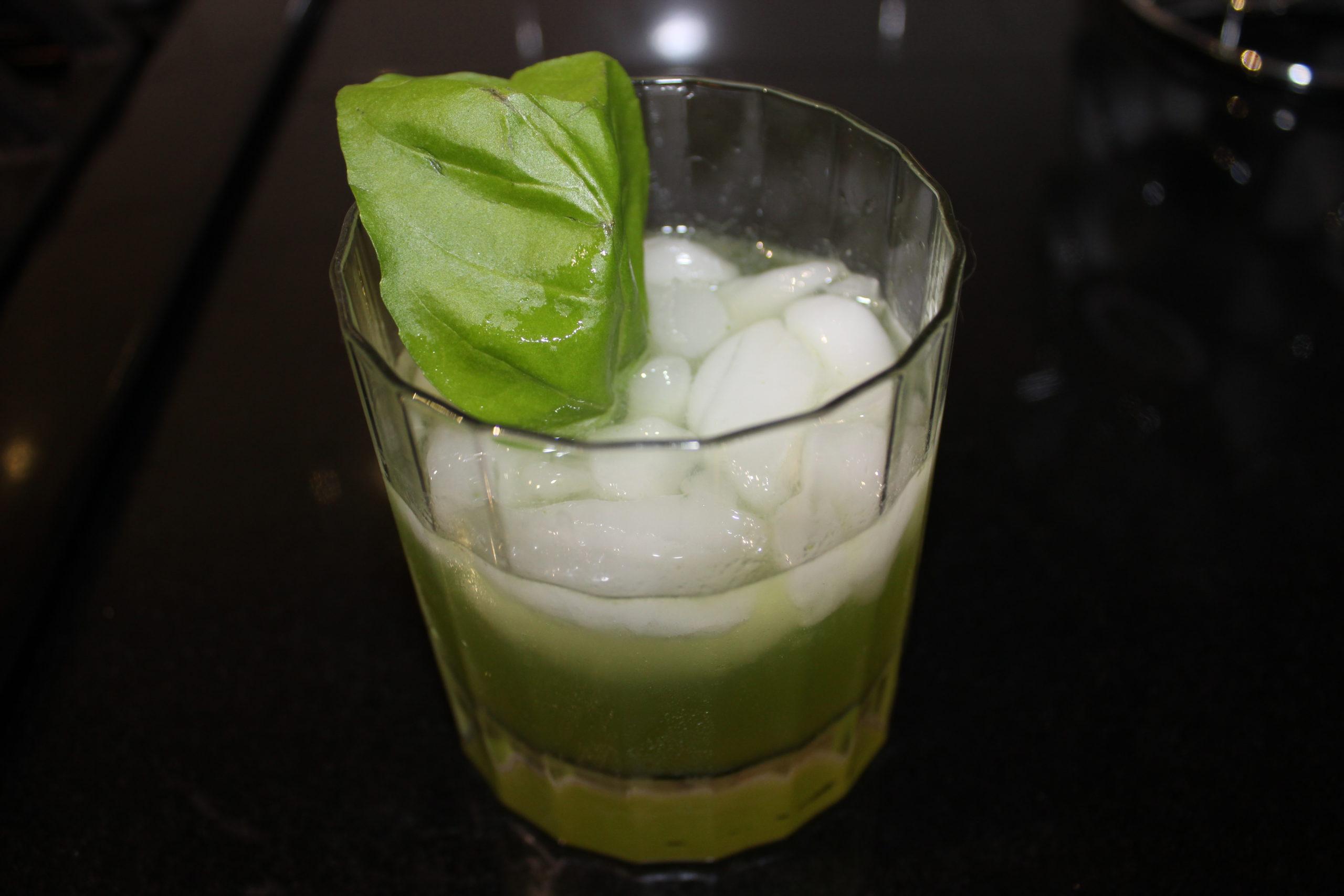 Basil Garden Cocktail