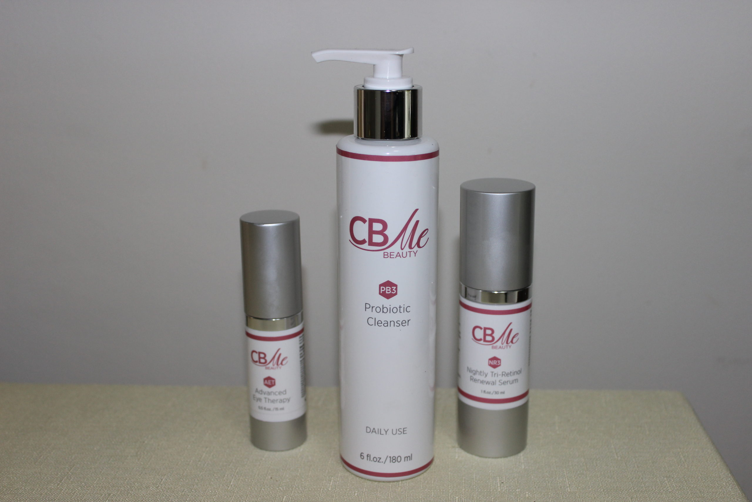 Denise Richard's new skincare line, CB Me Beauty