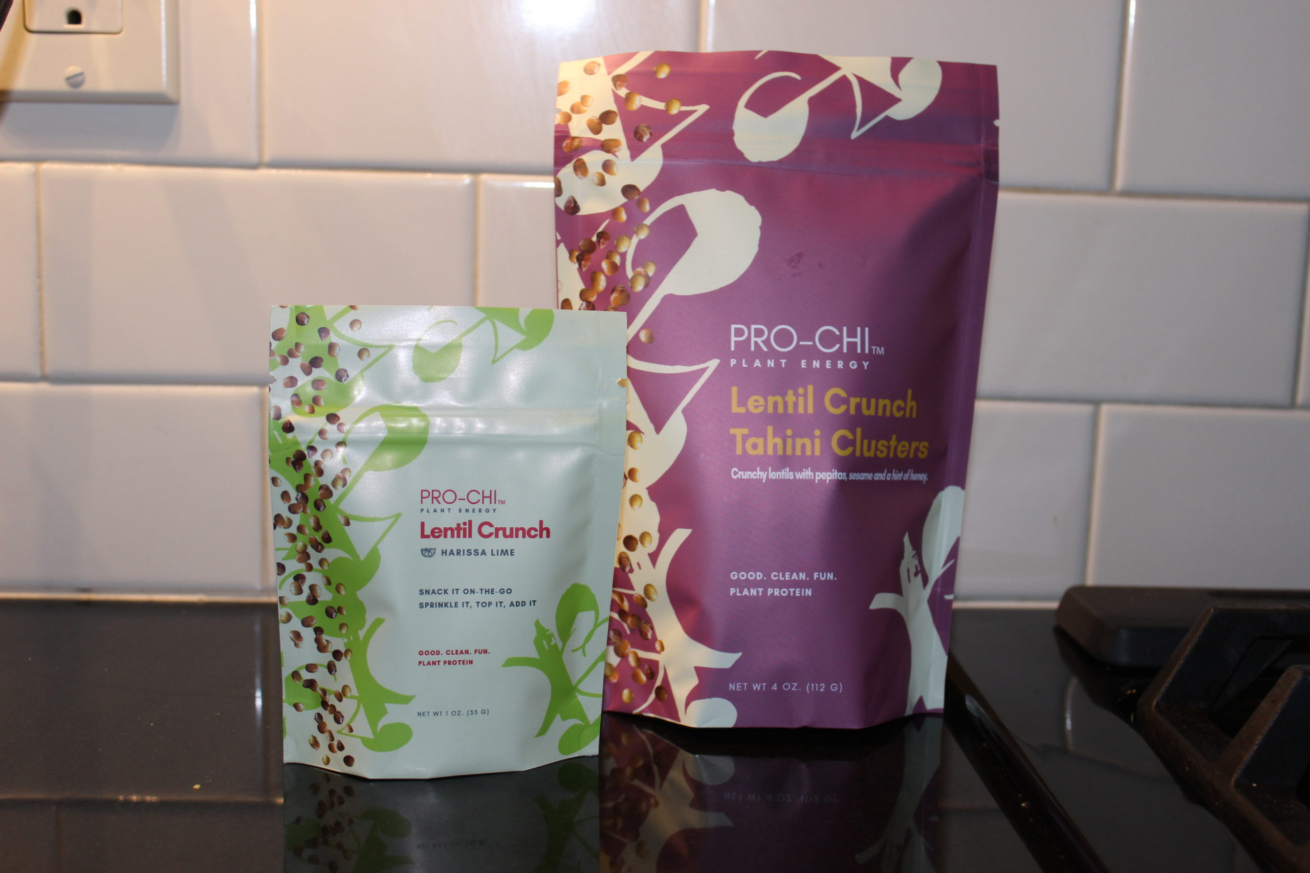 New Healthy Snack, Pro-Chi Lentil Crunch Tahini Clusters Are Nutrient Packed to Support Fitness and Recovery