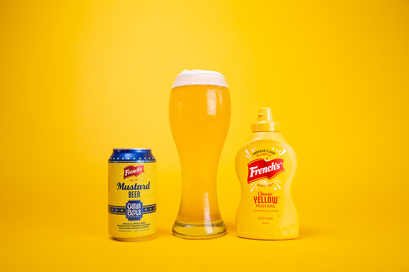 Oskar Blues Brewery and French's Mustard Partner on Mustard Beer