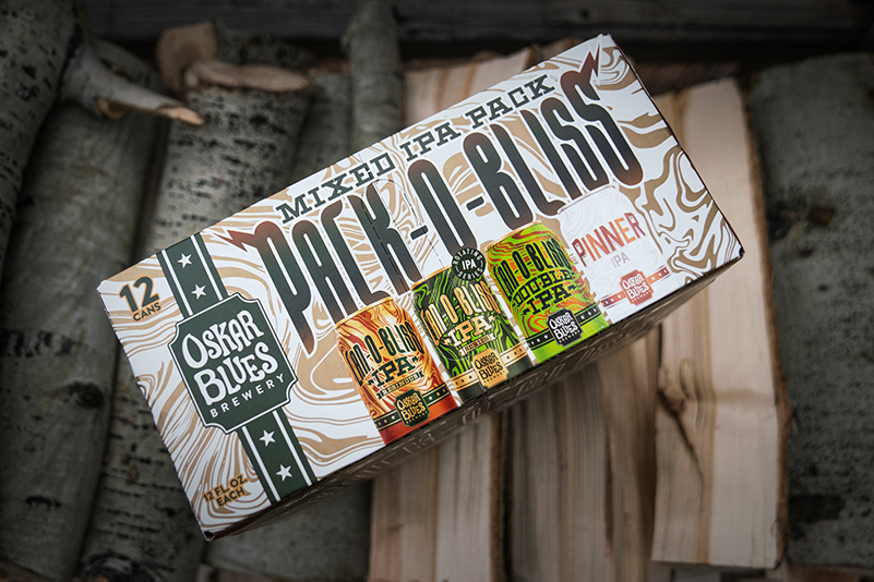 Announcing Pack-O-Bliss Mixed Pack From Oskar Blues Brewery