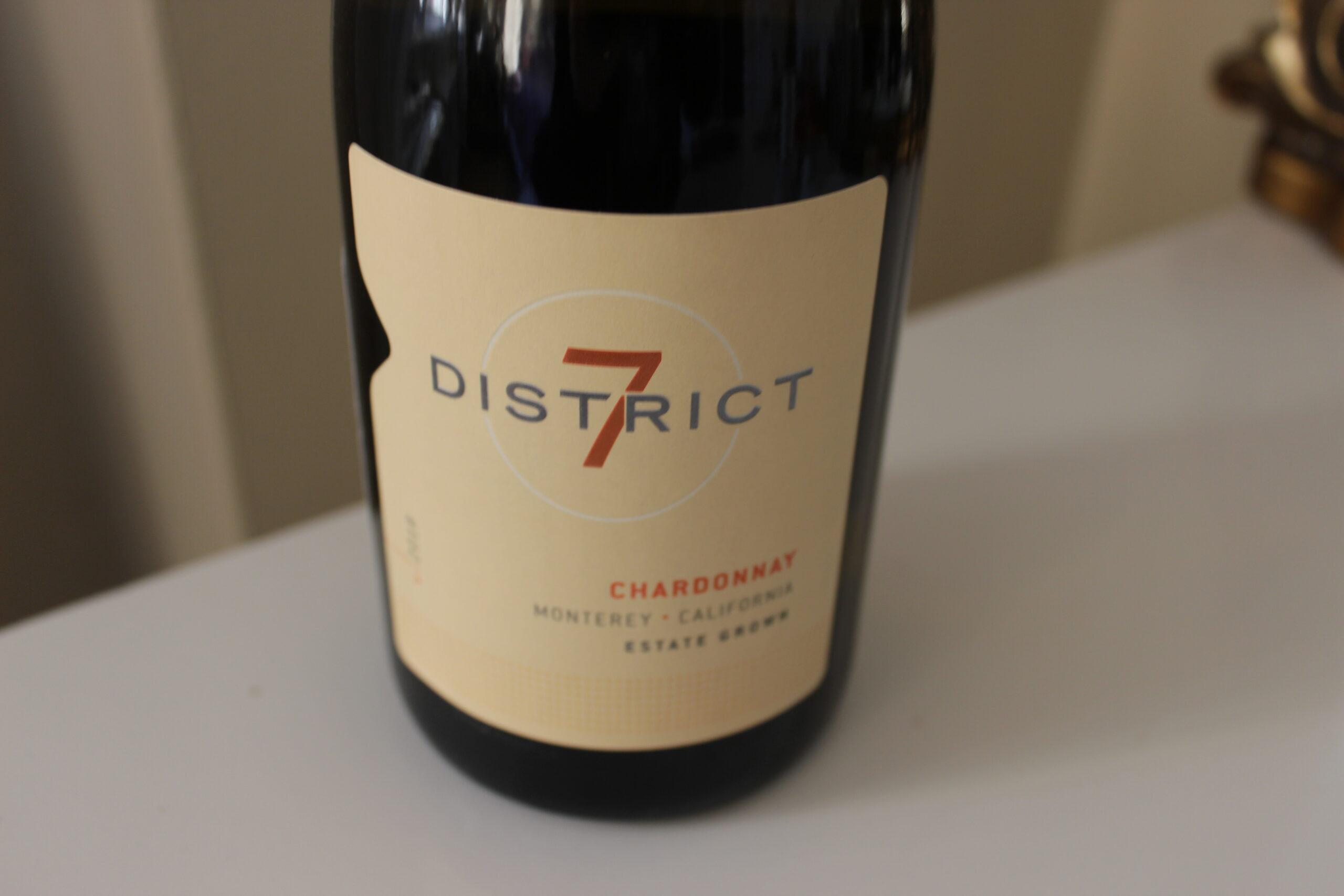 The 7 District 2018 Estate Grown Chardonnay Monterey