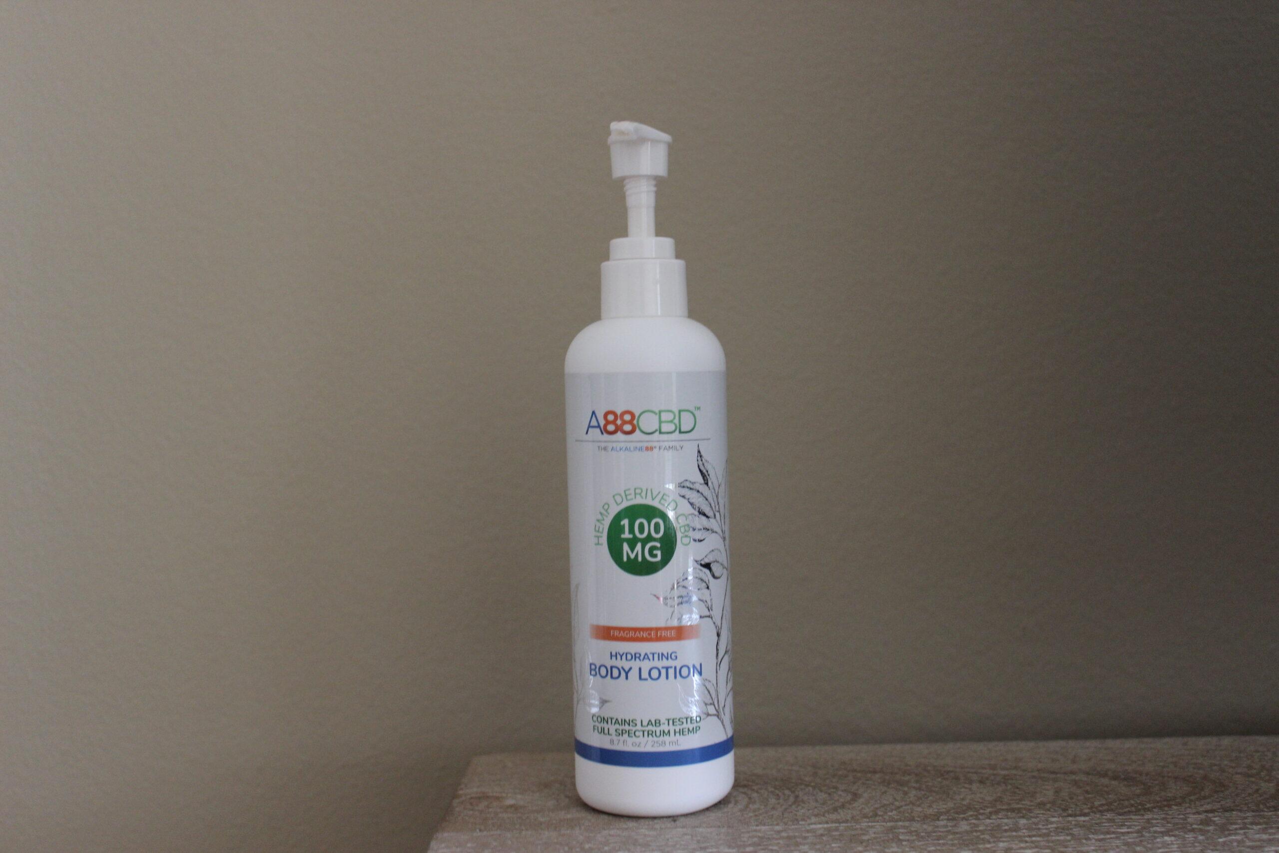 A88CBD Hydrating CBD Body Lotion