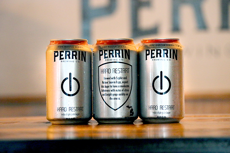 Perrin Brewing Company Releases Hard Restart IPA